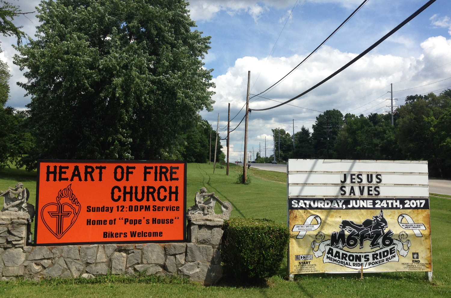Heart of Fire Church in Fern Creek (R.G. Dunlop)